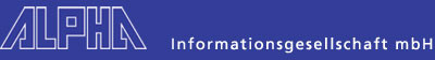 Alpha Informationsgesellschaft mbH Logo